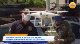 Drones devem ajudar a flagra crimes eleitorais nas eleições 2020