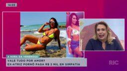 Vale tudo por amor? Ex-atriz pornô paga 2 mil reais em simpatia para Gusttavo Lima