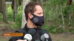 Após denúncia de cemitério clandestino policia encontra ossada no Caximba