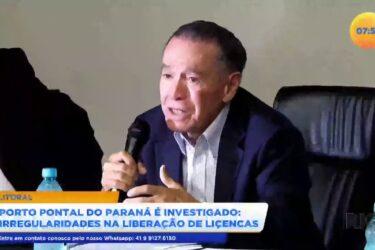 Porto Pontal do Paraná é investigado irregularidades na liberação de licenças