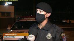 Casal é preso depois de roubar carro e PM também encontra droga e arma