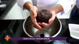 Receita do dia: tartalete brûlée!
