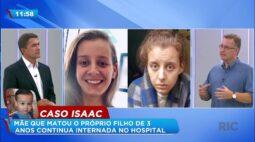 Mãe que matou o próprio filho de 3 anos continua internada no hospital