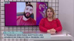Gusttavo Lima aparece em público pela primeira vez após separação