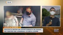 Golpista entra em apartamento de idosa, no centro de Londrina, e furta cofre