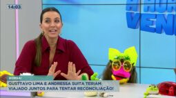 Gustavo Lima e Andressa Suita teriam viajados juntos para tentar reconciliação