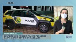 Casal acaba detido por suspeita de agredir os filhos