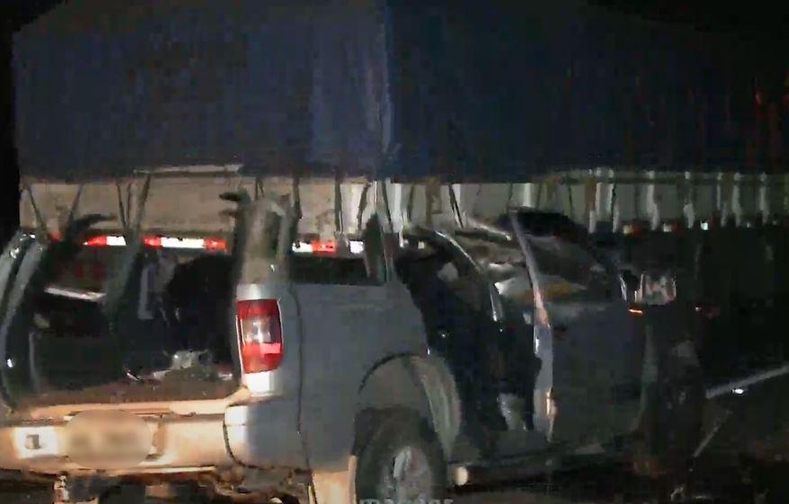 Quatro pessoas morrem em acidente na BR-277, em São José dos Pinhais