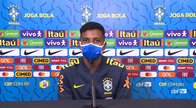 Rodrygo diz que a Copa do Mundo já começou e comenta chance na Seleção