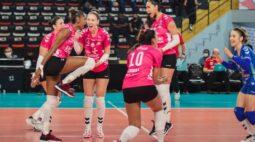 Osasco vence o Sesi Bauru e é campeão paulista de vôlei feminino