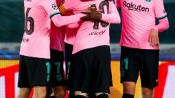 Messi marca, Barcelona vence Juventus na Itália e segue 100% na Champions