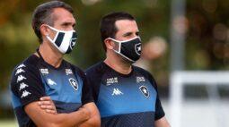 Botafogo desmancha comissão técnica e Bruno Lazaroni volta a ser auxiliar