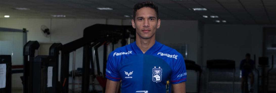 Bruno Nunes é oficializado pelo Paraná Clube