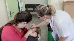 Campanha de vacinação contra a paralisia infantil é prorrogada em Londrina