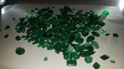 PRF apreende carga de esmeraldas sem documentação