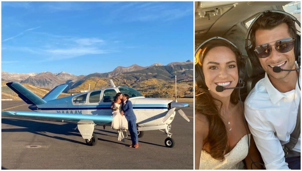 Casal de tripulantes morre em acidente aéreo voltando da lua de mel