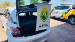 Polícia Rodoviária apreende carga de celulares contrabandeados do Paraguai na PR-323