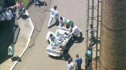 Paciente internada com Covid-19 morre por causa de incêndio em hospital