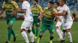 Paraná reencontra caminho do gol, mas fica no empate com o Cuiabá