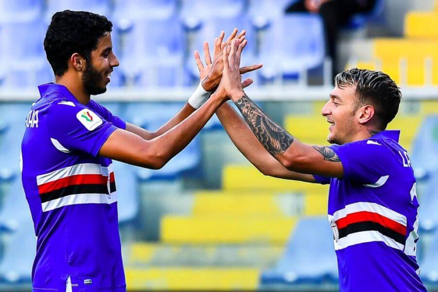 """Ex-Santos, Kaique estreia como profissional pela Sampdoria: """"Não via a hora"""""""