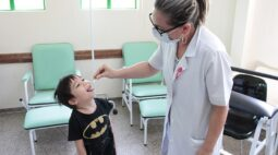 Dia D imuniza quase 2,5 mil contra poliomielite em Londrina