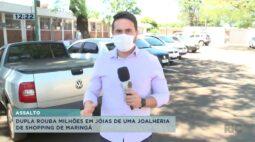 Dupla é procurada pela policia por roubo milionário em joalheria de Shopping em Maringá