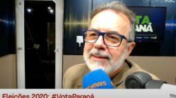 """Candidato Eloy Casagrande (Rede) diz que """"Curitiba não inova mais"""""""