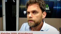 """Candidato Goura (PDT) defende que Curitiba """"volte a ser uma cidade de vanguarda"""""""