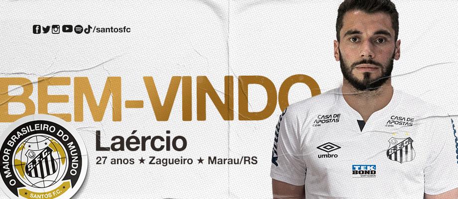 """Santos anuncia Laércio, que diz: """"Passei por momento de muita paciência"""""""