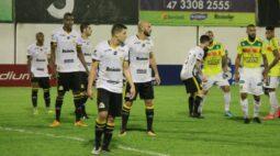 Brusque vence clássico contra o Criciúma e dispara na ponta do Grupo B da Série C