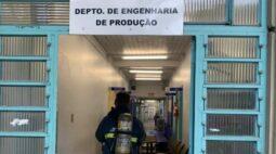 Dedetização provoca falso alarme de incêndio na UEM