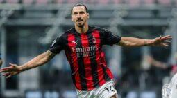 Com dois de Ibrahimovic, Milan vence Inter no dérbi do Campeonato Italiano