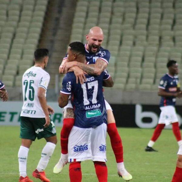 Palmeiras é dominado pelo Fortaleza e amarga quarta derrota consecutiva