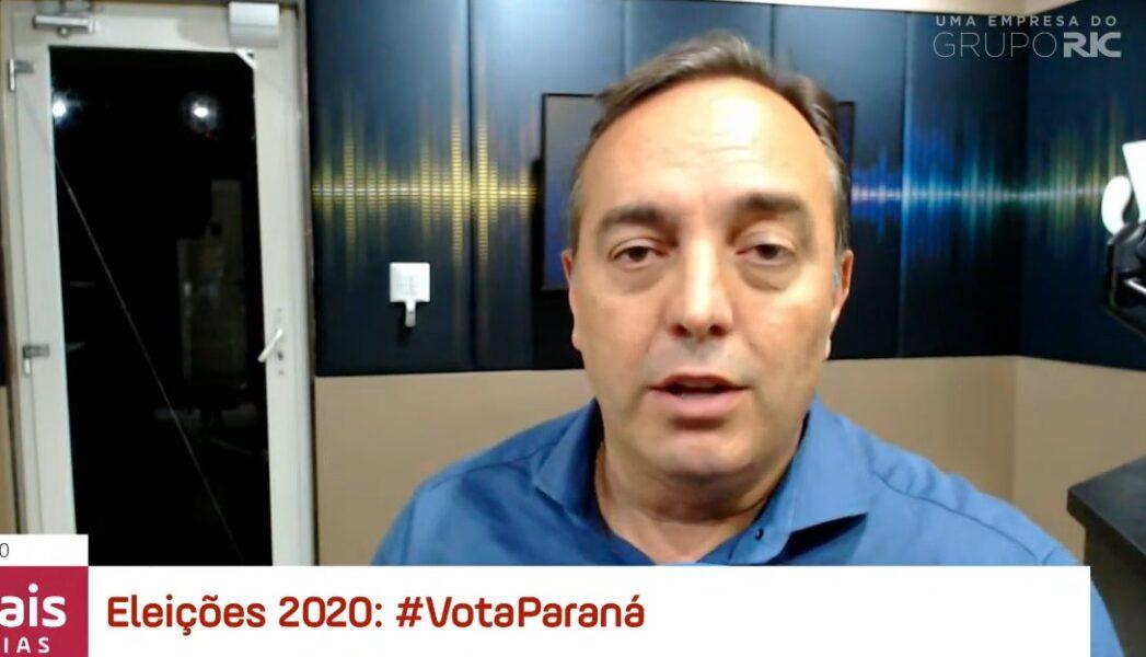 """Candidato Fernando Francischini (PSL) diz que procura """"menos confronto e mais consenso"""" para governar Curitiba"""