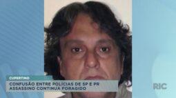 Confusão entre Polícias de São Paulo e Paraná: assassino de ator continua foragido