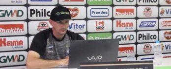 Gerson Gusmão é demitido pelo Operário após derrota para o Cruzeiro