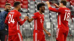Coman marca dois e Bayern goleia Atlético de Madrid em estreia na Champions