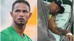 Condenado por feminicídio, goleiro Bruno é internado em estado grave