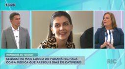 Conversa com a médica que passou 5 dias no cativeiro, este foi o sequestro mais longo do Paraná