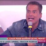 Sabrina Sato e Luiza Ambiel trocam farpas