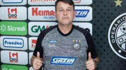 Leandro Niehues é confirmado como novo auxiliar técnico do Operário