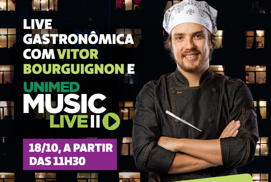 Unimed Curitiba celebra Dia do Médico com live gastronômica beneficente