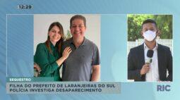 Filha do prefeito de Laranjeiras do Sul foi sequestrada