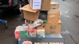 Polícia Federal incinera mais de 400 kg de drogas em Maringá
