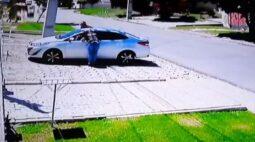 Homem mata assaltante durante roubo de carro em Curitiba