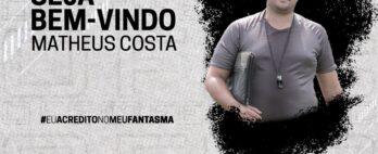 Matheus Costa é o novo técnico do Operário-PR