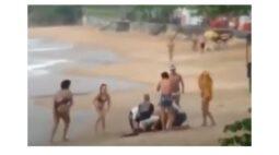 Menina de 4 anos morre após ser atingida por raio em praia do Rio