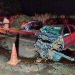 Mulher grávida de gêmeas morre em colisão na PR-445