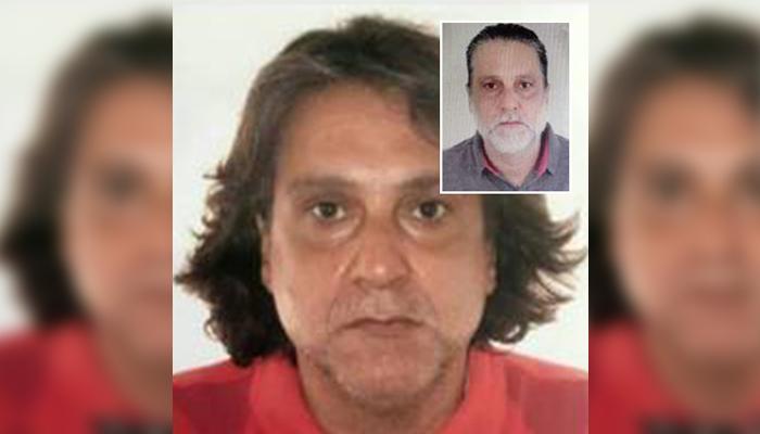 Paulo Cupertino, assassino do ator Rafael Miguel teria sido preso no interior do Paraná