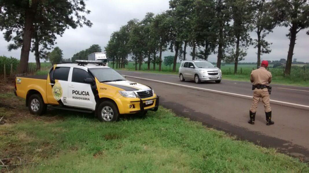 120 quilos de maconha são apreendidos na PR-323 no interior do Paraná